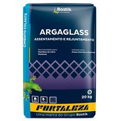 Argamassa para Pastilha de Vidro Argaglass Branca 20kg - Fortaleza