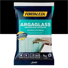 Argamassa para Pastilha de Vidro Argaglass Preta 1kg - Fortaleza
