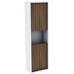 Armário Lateral para Banheiro em Mdf Módena 99,5x30cm Terracota - Darabas Agardi