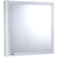 Armário para Banheiro de Sobrepor 51x49cm Branco - Cris Metal