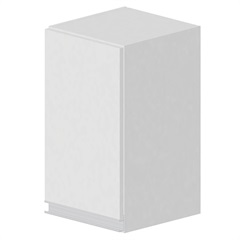 Armário Simples Veneza 66x54cm Branco - Bonatto