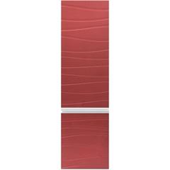 Armário Superior para Banheiro em Mdf Marsalo 39,5x125cm Ônix E Marsala - Mazzu
