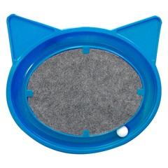 Arranhador Super Cat Relax Pop 44x45cm Azul - Furacão Pet