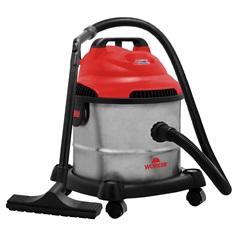 Aspirador de Pó E Água 10 Litros 1400w 127v Vermelho - Worker