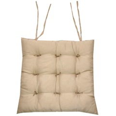 Assento Baixo Oxford 40x40cm Cáqui - Próxima Têxtil
