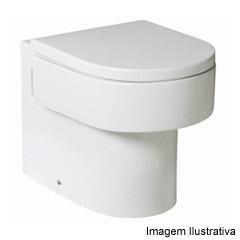 Assento Happening com Queda Amortecida Branco - Roca