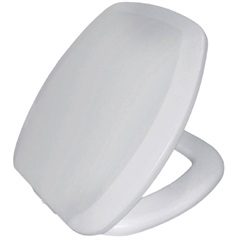 Assento Sanitário Almofadado Thema Branco - Sicmol