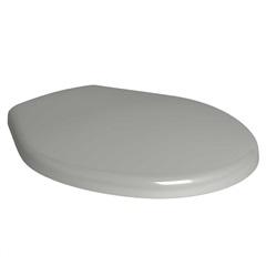 Assento Sanitário em Plástico Oval Ap01 Cinza - Deca