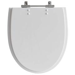 Assento Sanitário em Poliéster Eros Branco - Policlass
