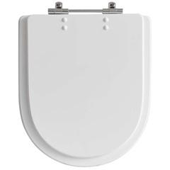 Assento Sanitário em Poliéster Neo Branco - Policlass