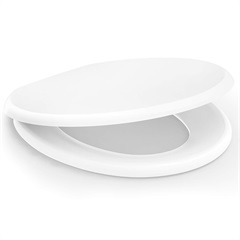 Assento Sanitário em Polipropileno Oval Confort Convencional Branco - Incepa