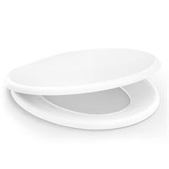 Assento Sanitário em Polipropileno Oval Confort Plus Convencional Branco - Incepa