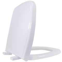 Assento Sanitário em Polipropileno Soft Close Versato Branco - Tupan