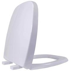 Assento Sanitário em Resina Termofixa Soft Close Versato Branco - Tupan