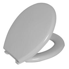 Assento Sanitário Oval Almofadado Perfumado Branco - Astra