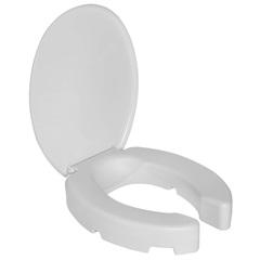 Assento Sanitário Oval Elevado com Tampa Branco - Astra