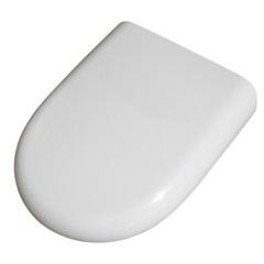 Assento Sanitário Oval em Polipropileno Slow Close Branco - Sicmol