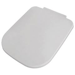 Assento Sanitário Quadrado em Polipropileno Soft Close Branco - Sicmol