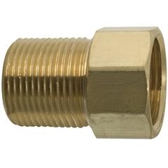 """Aumento para Torneira 1/2""""X21mm Dourado - Blukit"""