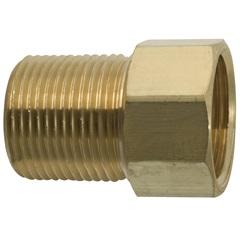 """Aumento para Torneira 1/2""""X36mm Dourado - Blukit"""