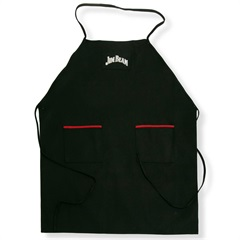 Avental Canvas Bbq Jim Beam Preto - Casa Etna