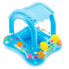 Baby Bote Inflável Kiddie com Cobertura Azul - Intex