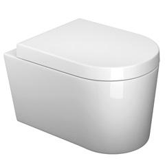 Bacia Convencional Suspensa Link Branco Gelo  - Deca