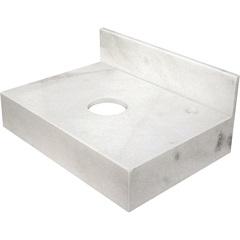 Bancada de Mármore para Banheiro 70x44cm Branca - Venturini