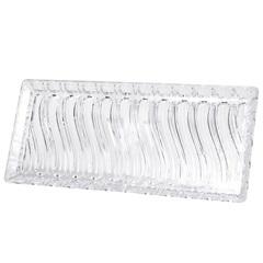 Bandeja Retangular em Acrílico 35x15cm Transparente - Casanova