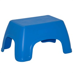 Banquinho Infantil Catty Basic Azul - Tramontina