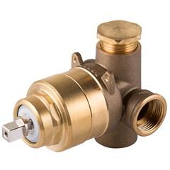 Base Misturador Monocomando para Chuveiro Ap/Bp 3/4 Polegadas Alta Vazão 330406 - Docol