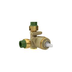 Base Monocomando para Registro de Chuveiro de Baixa E Alta Pressão para Ppr 20mm - Deca