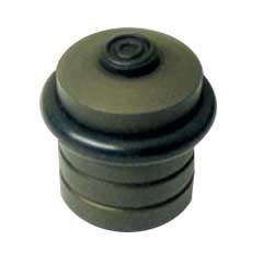 Bate-Porta de Alumínio Anodizado Bronze 401a - Datti
