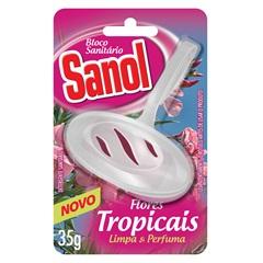 Bloco Sanitário Flores Tropicais 35g - Total Química