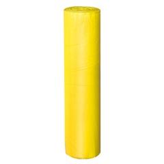 Bobina de Lona Plástica 40cm com 25 Metros Amarela - Plasitap