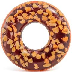 Boia para Piscina Donut Chocolate Marrom