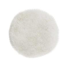 """Boina de Pele para Polimento 8"""" Branca - Bosch"""