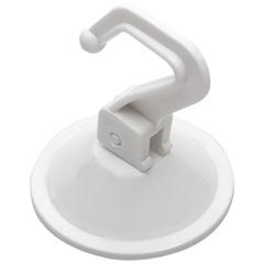 Cabide de Pressão Branco com Ventosa - Talentos