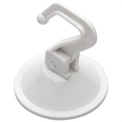 Cabide de Pressão com Ventosa Branco - Talentos