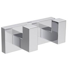 Cabide Duplo Quadratta Cromado C83 2062 - Deca