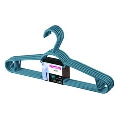 Cabide em Plástico Pendura Mais Azul com 6 Peças - Sanremo