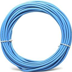 Cabo de Energia 10mm² Duflex com 25 Metros Azul - Induscabos