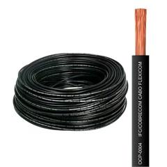 Cabo de Energia 750v 10mm² Flexicom Antichama com 100 Metros Preto - Cobrecom