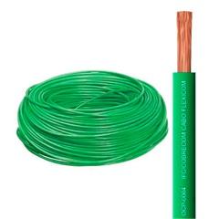 Cabo de Energia 750v 10mm² Flexicom com 100 Metros Verde - Cobrecom