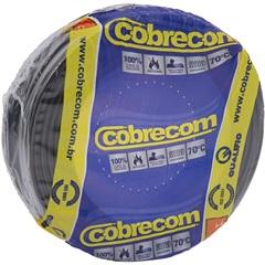 Cabo de Energia 750v 25mm² Flexicom Antichama com 100 Metros Preto - Cobrecom
