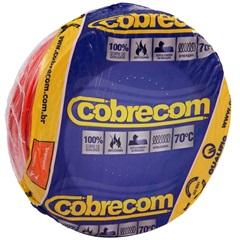 Cabo de Energia 750v 4mm² Flexicom Antichama com 100 Metros Vermelho - Cobrecom