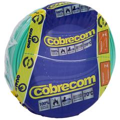 Cabo de Energia 750v 6mm² Flexicom Antichama com 100 Metros Verde - Cobrecom