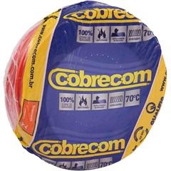 Cabo de Energia 750v 6mm Flexicom com 50 Metros Vermelho - Cobrecom