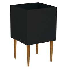 Cachepot Box Preto 50x35x35cm