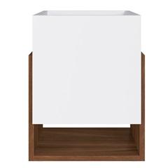 Cachepot Livreiro Multiuso Branco 41,6x33x30cm